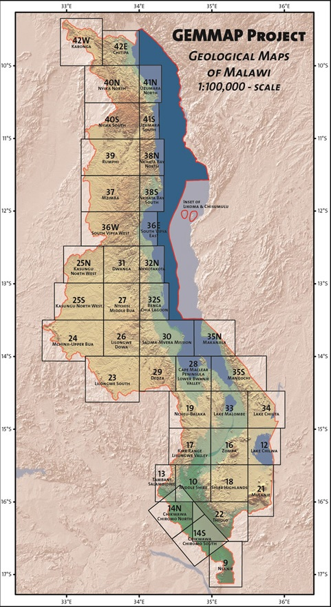 Launch of a geological mapping programme in Malawi