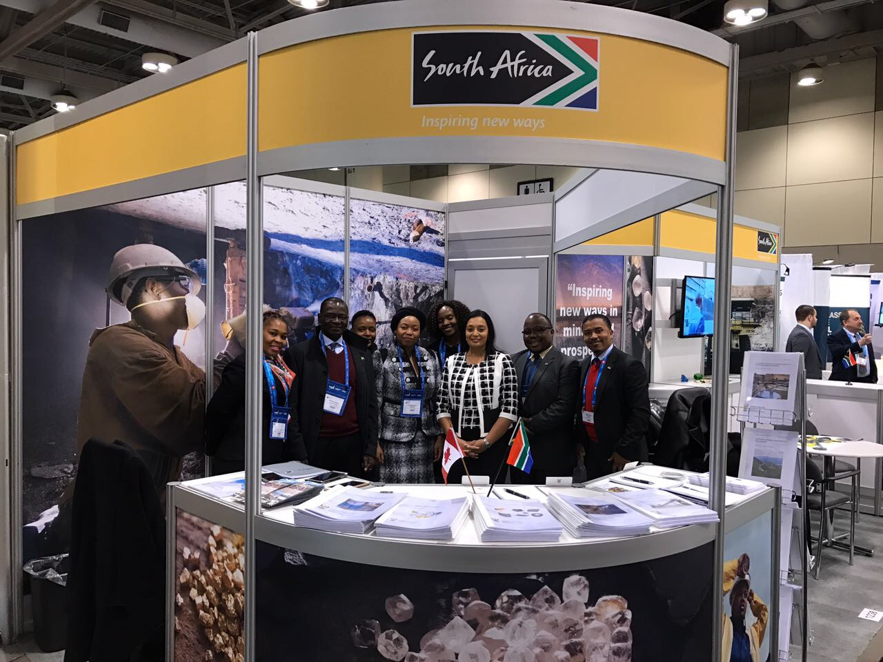 The SA delegation at the PDAC